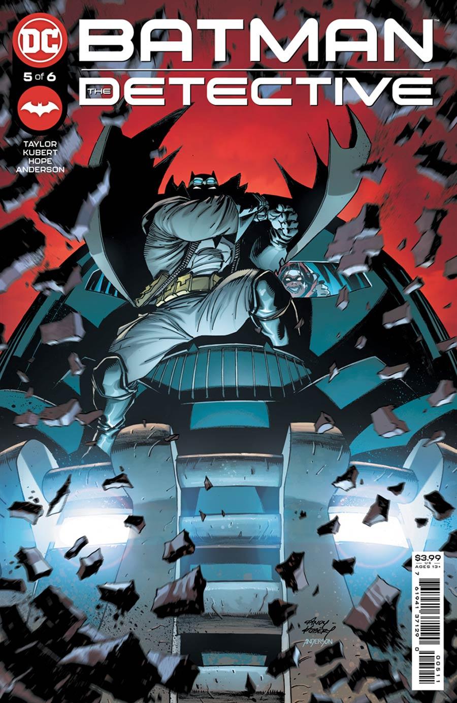 Batman The Detective #5 Cover A Regular Andy Kubert Cover