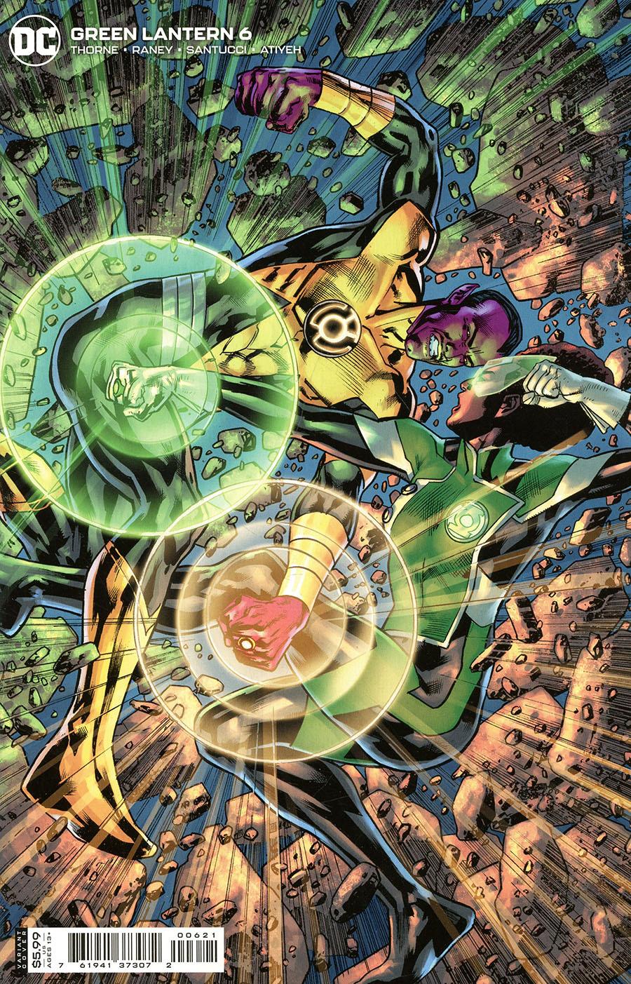 Green Lantern Vol 7 #6 Cover B Variant Bryan Hitch Card Stock Cover