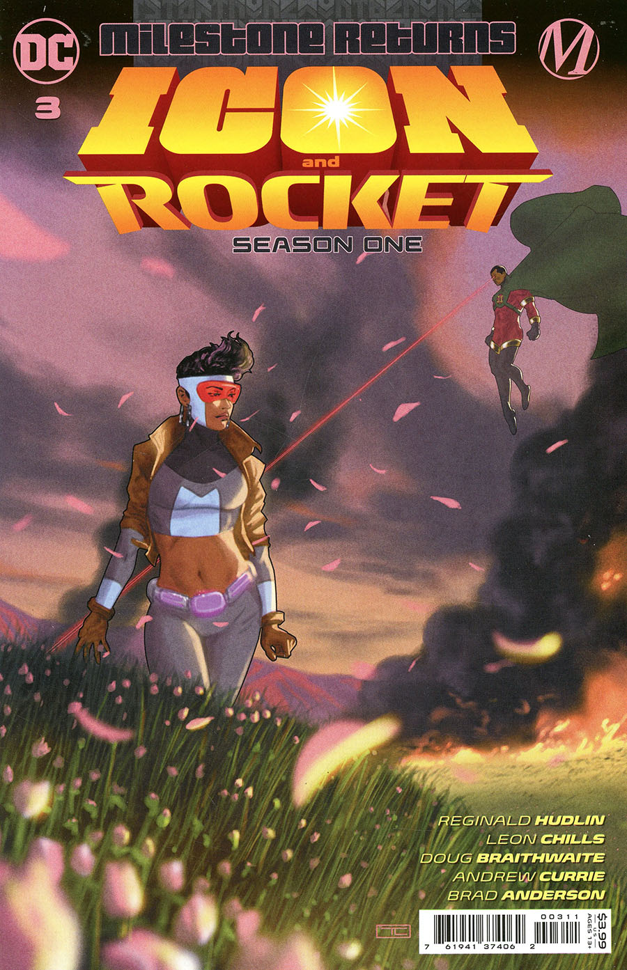 Icon & Rocket Season One #3 Cover A Regular Taurin Clarke Cover