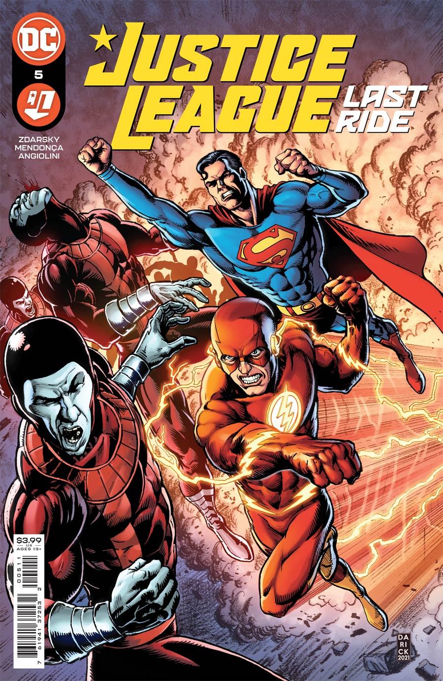 Justice League Last Ride #5 Cover A Regular Darick Robertson Cover