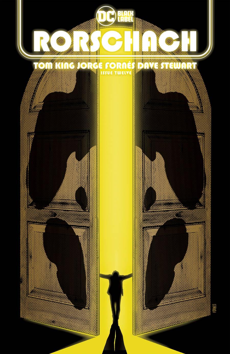 Rorschach #12 Cover A Regular Jorge Fornes Cover