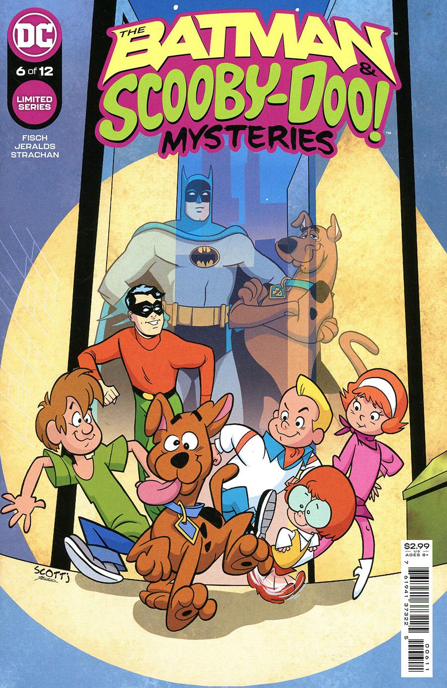 Batman & Scooby-Doo Mysteries #6