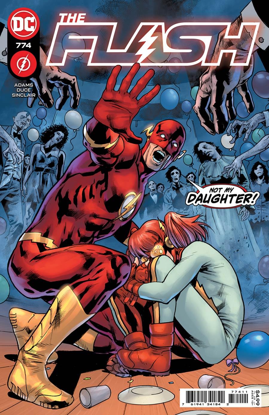 Flash Vol 5 #774 Cover A Regular Bryan Hitch Cover