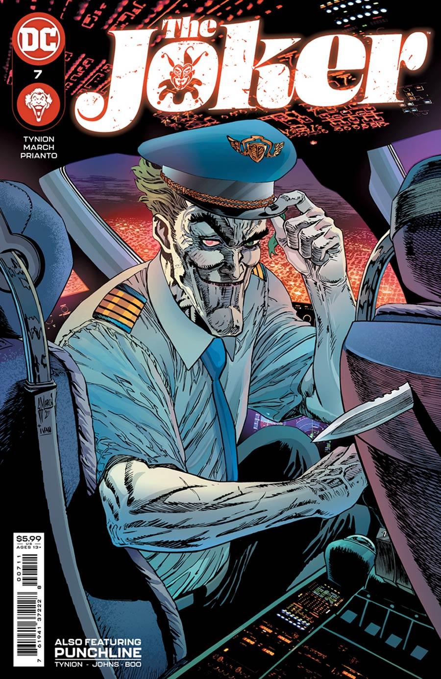 Joker Vol 2 #7 Cover A Regular Guillem March Cover