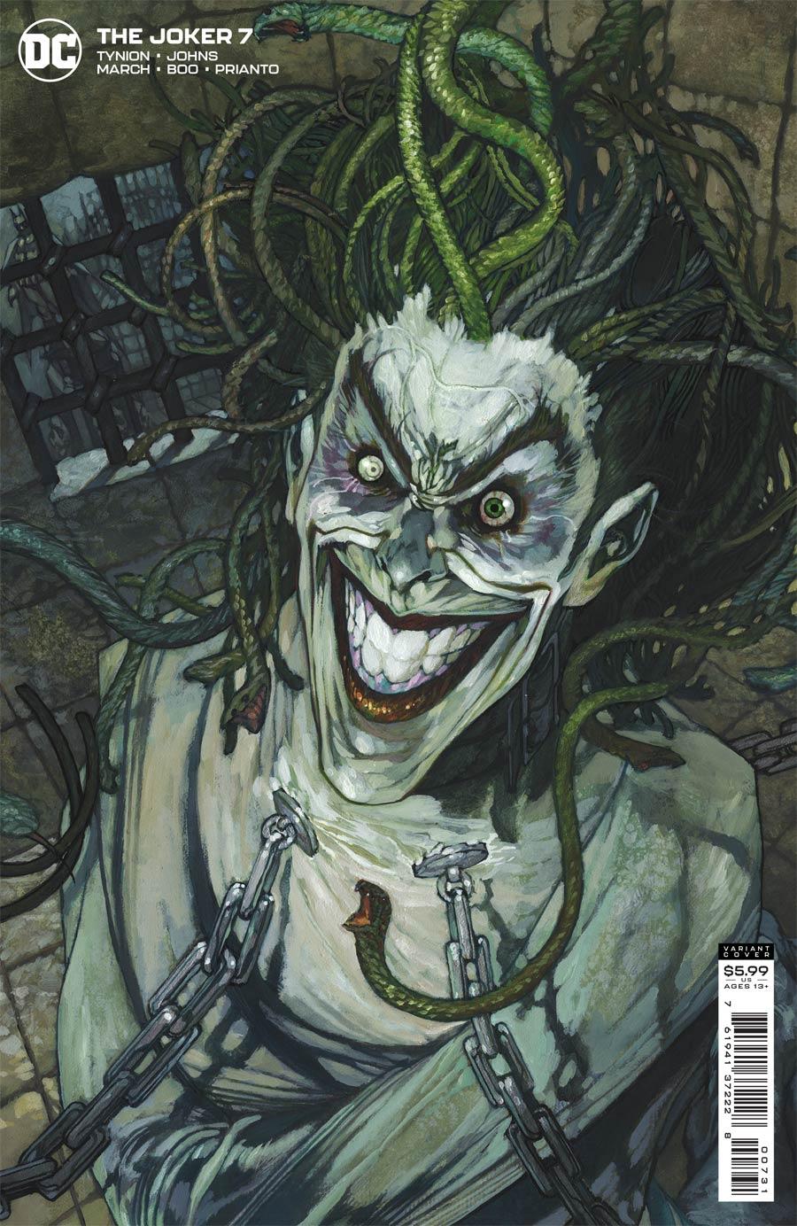 Joker Vol 2 #7 Cover C Variant Simone Bianchi Cover