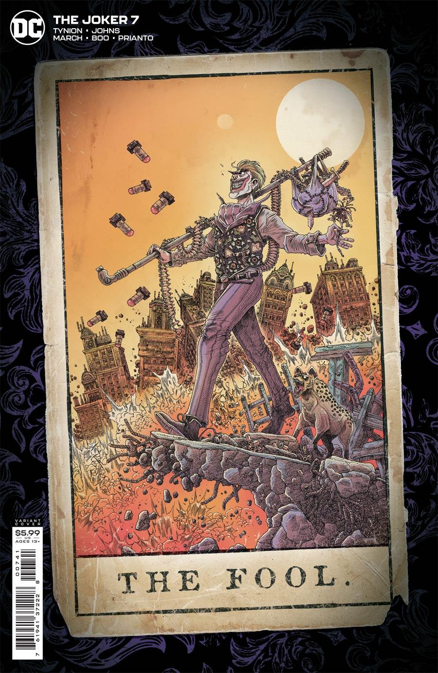 Joker Vol 2 #7 Cover D Incentive James Stokoe Variant Cover