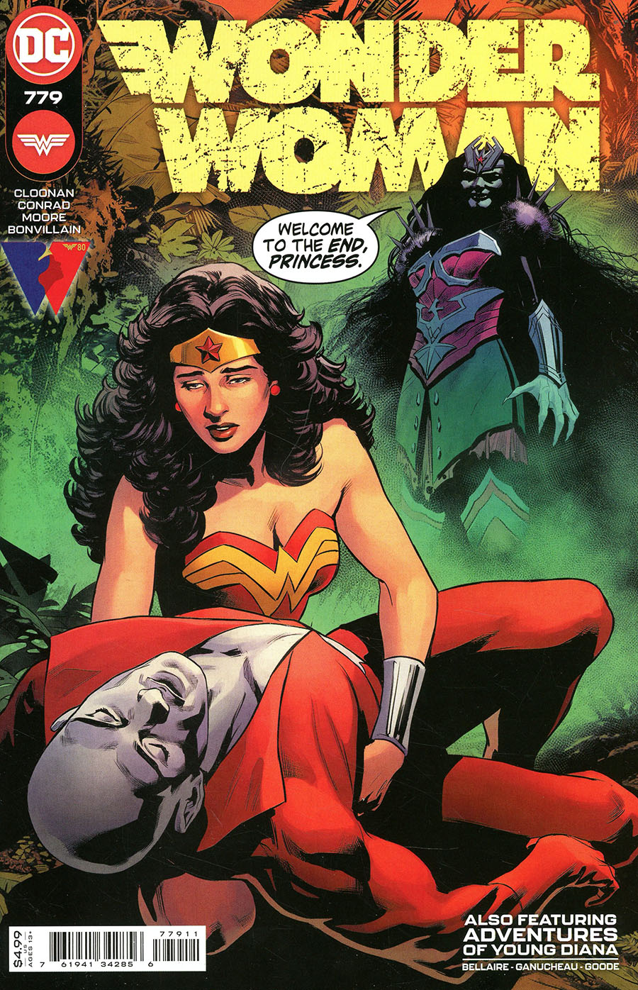 Wonder Woman Vol 5 #779 Cover A Regular Travis Moore & Paulina Ganucheau Cover