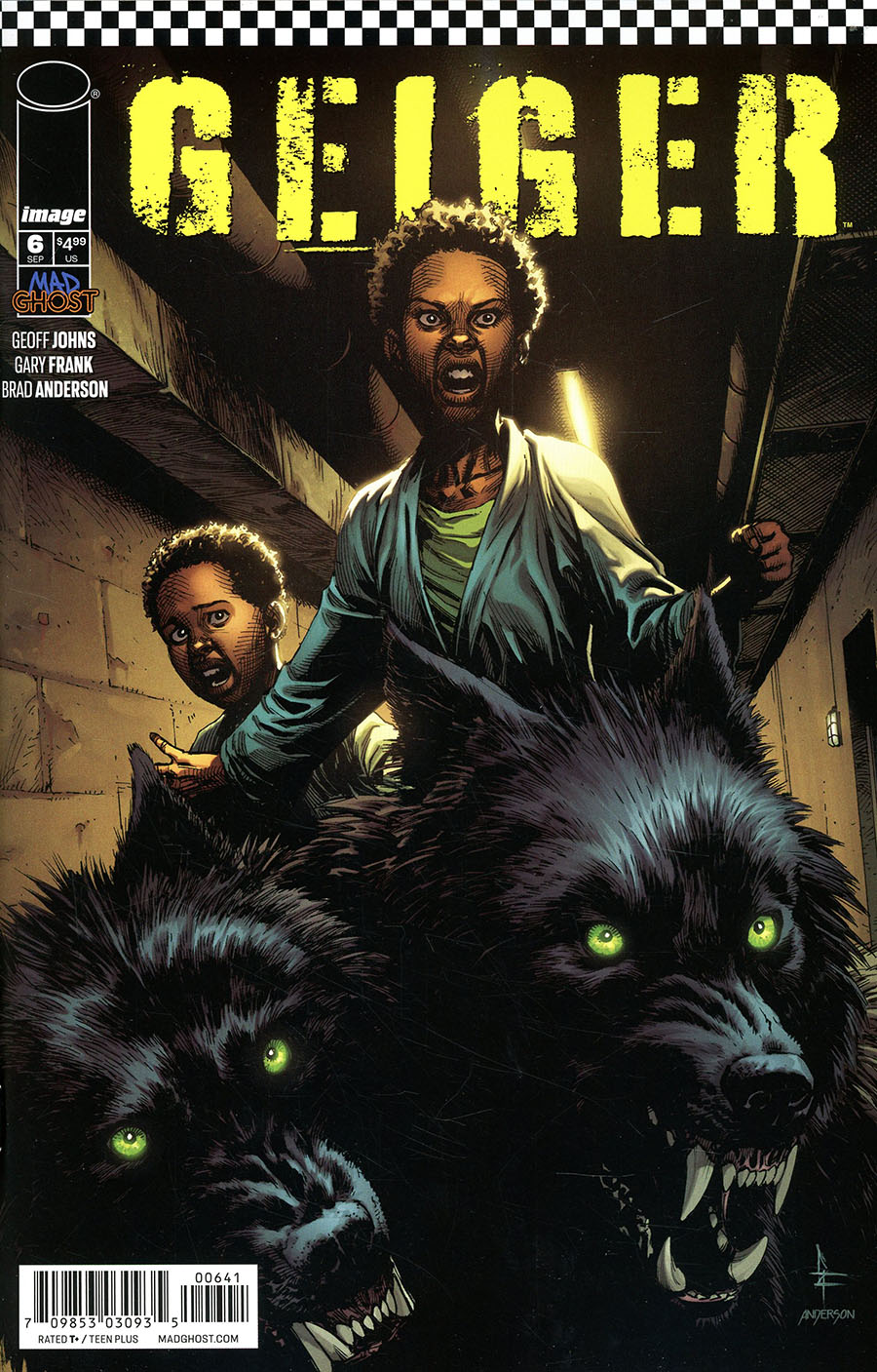 Geiger #6 Cover D Variant Gary Frank Cover