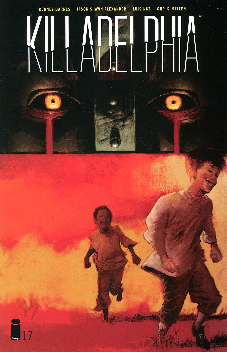 Killadelphia #17 Cover A Regular Jason Shawn Alexander Cover