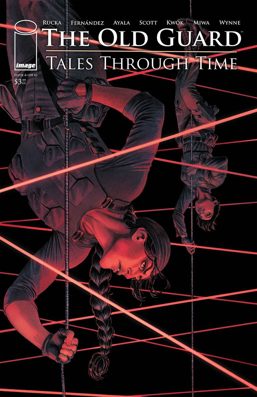 Old Guard Tales Through Time #6 Cover B Variant Nicola Scott Cover