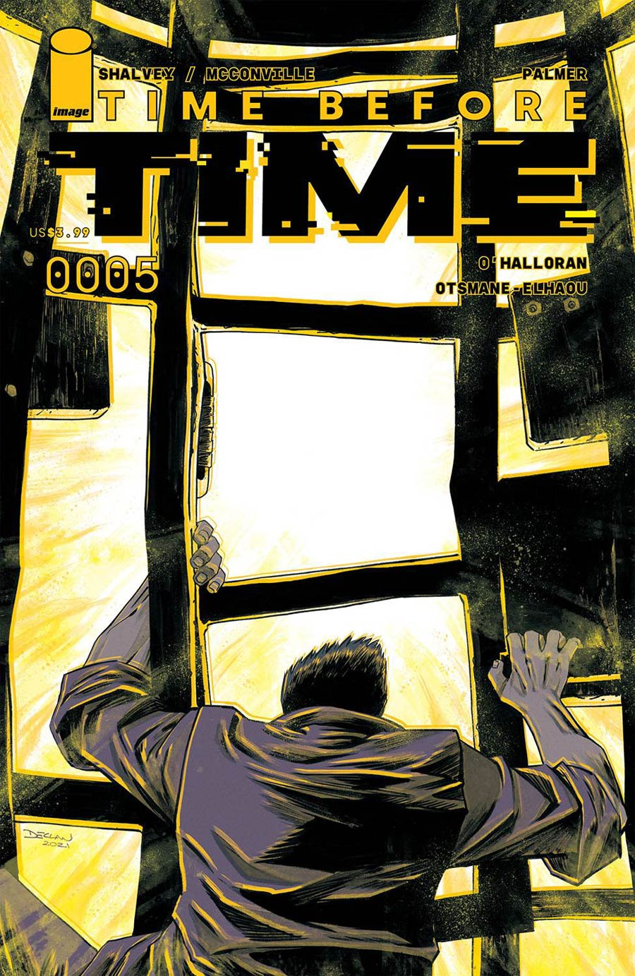 Time Before Time #5 Cover A Regular Declan Shalvey Cover
