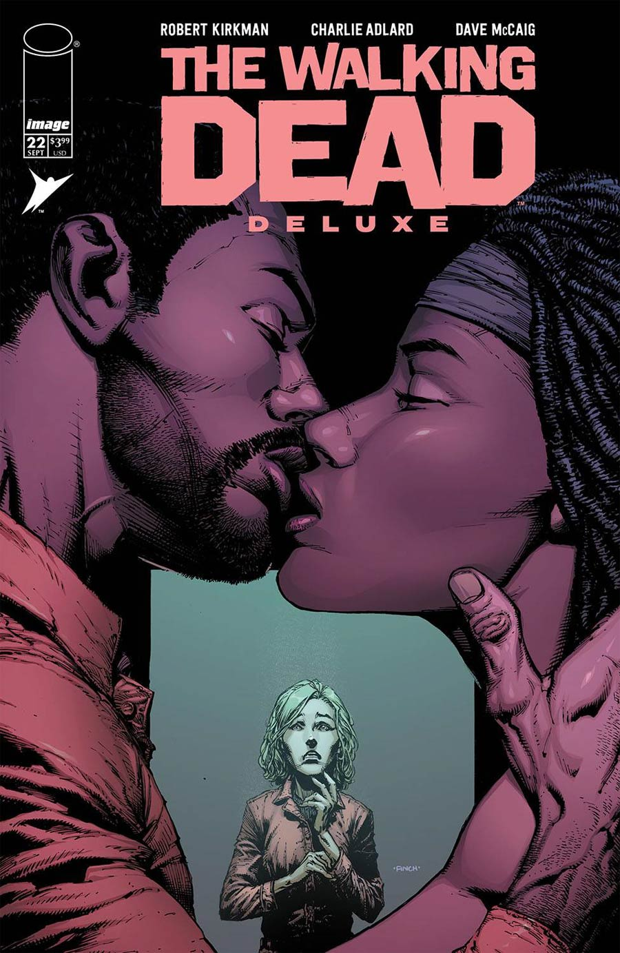 Walking Dead Deluxe #22 Cover A Regular David Finch & Dave McCaig Cover