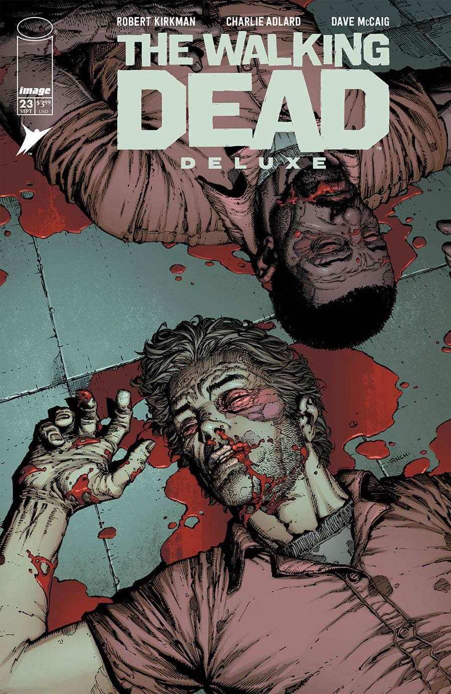 Walking Dead Deluxe #23 Cover A Regular David Finch & Dave McCaig Cover