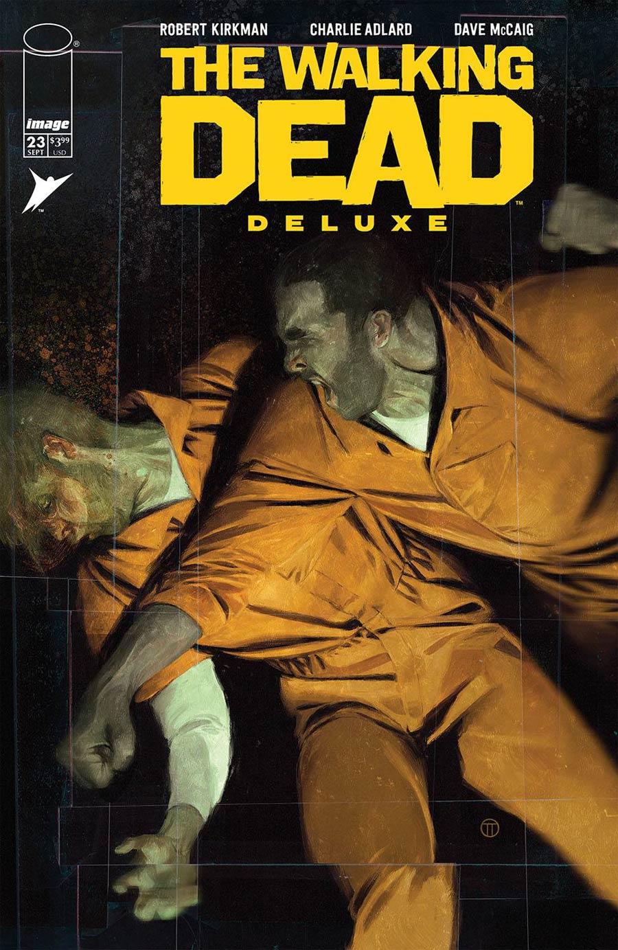 Walking Dead Deluxe #23 Cover C Variant Julian Totino Tedesco Cover