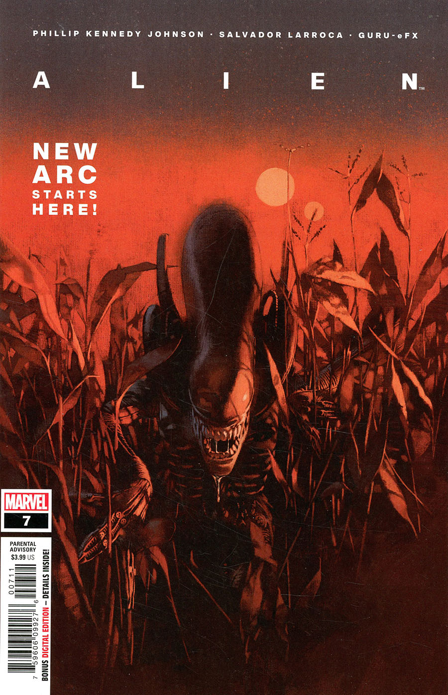 Alien #7 Cover A Regular Marc Aspinall Cover