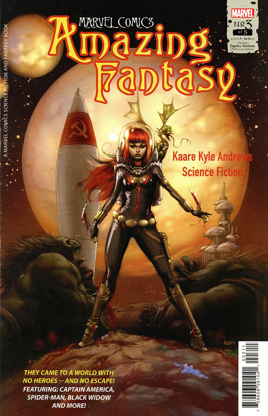 Amazing Fantasy Vol 3 #3 Cover A Regular Kaare Andrews Cover