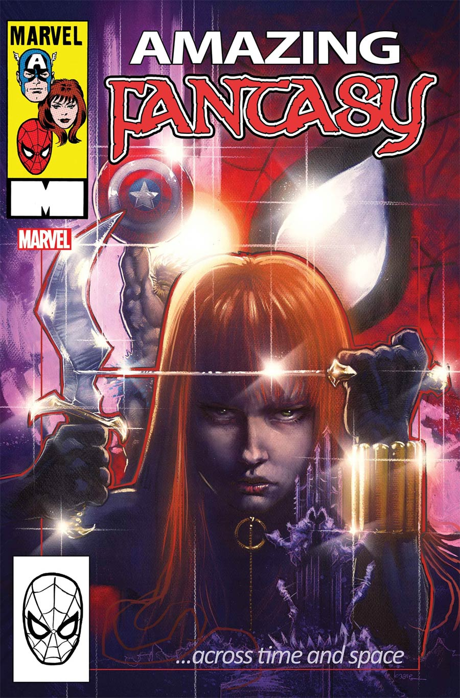 Amazing Fantasy Vol 3 #3 Cover B Variant Kaare Andrews Cover