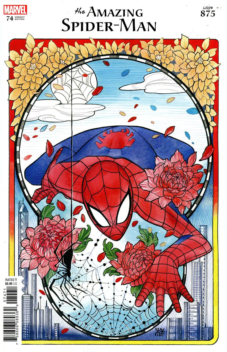 Amazing Spider-Man Vol 5 #74 Cover E Variant Peach Momoko Cover (#875)