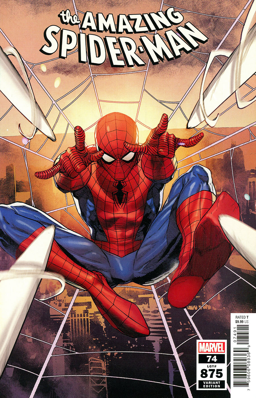 Amazing Spider-Man Vol 5 #74 Cover G Variant Leinil Francis Yu Cover (#875)