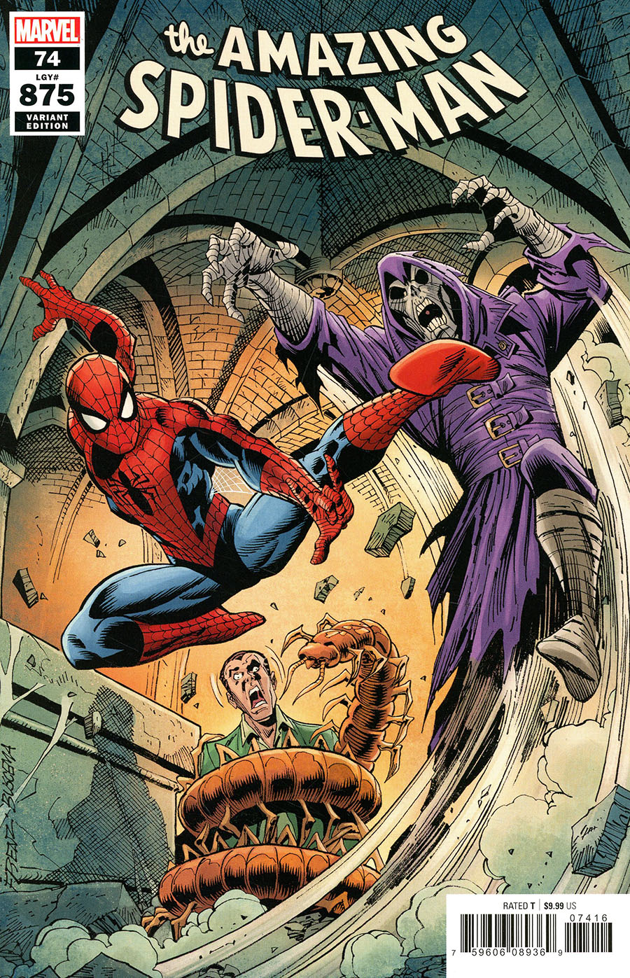 Amazing Spider-Man Vol 5 #74 Cover H Variant Ron Frenz Cover (#875)