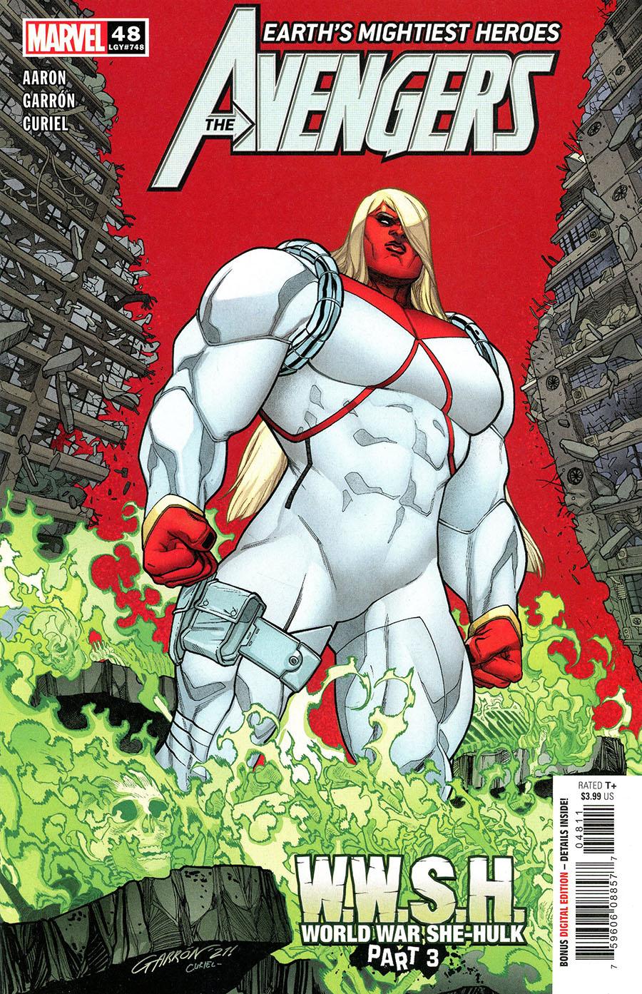 Avengers Vol 7 #48 Cover A Regular Javier Garron Cover