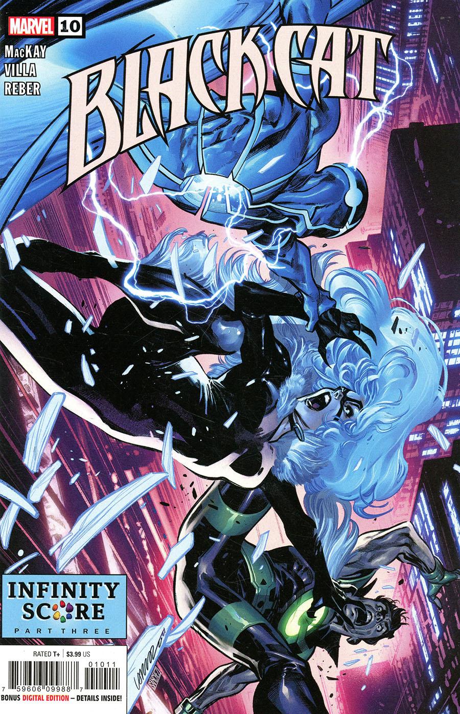 Black Cat Vol 2 #10 Cover A Regular Pepe Larraz Cover
