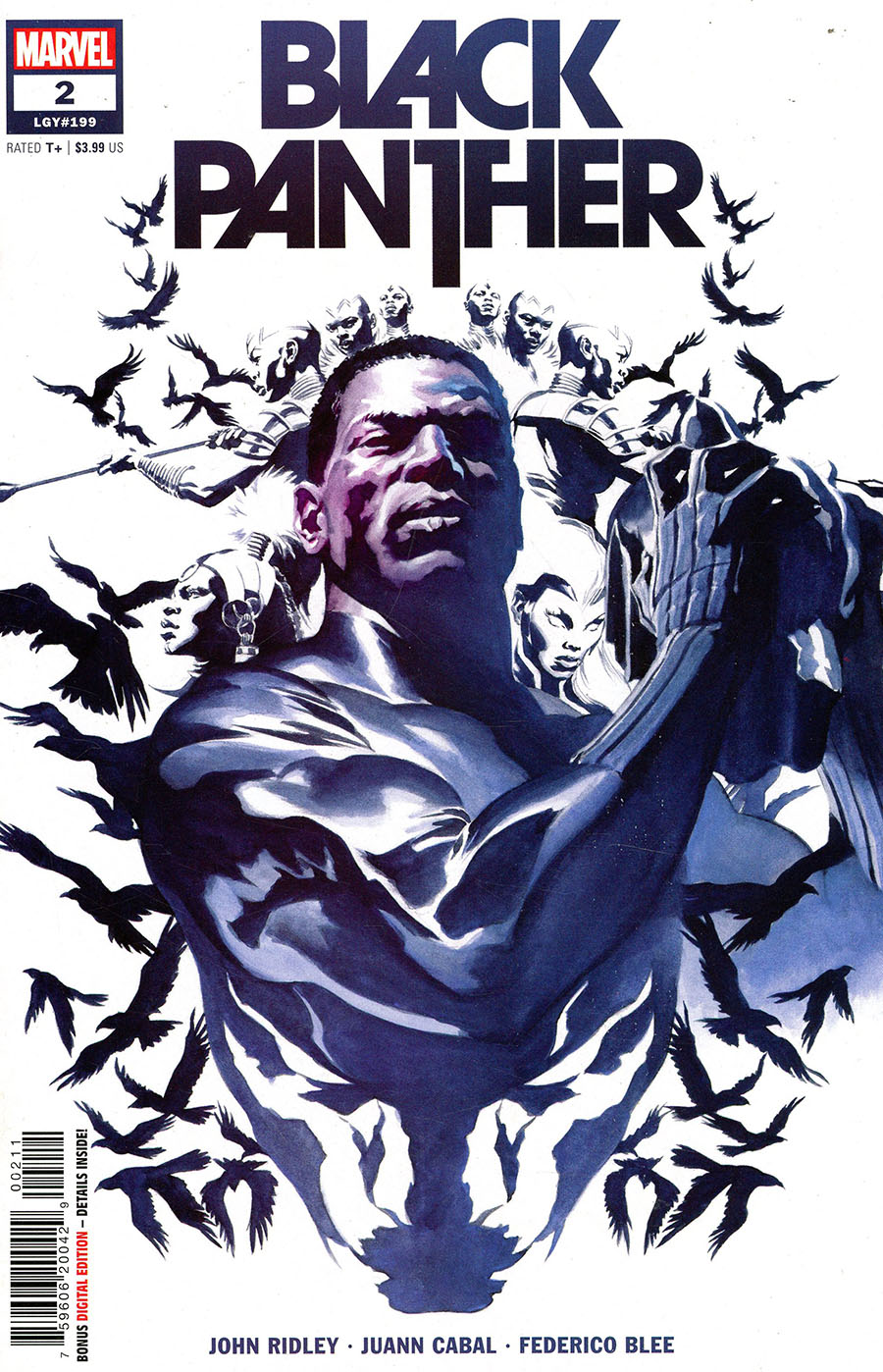 Black Panther Vol 8 #2 Cover A Regular Alex Ross Cover - RESOLICITED