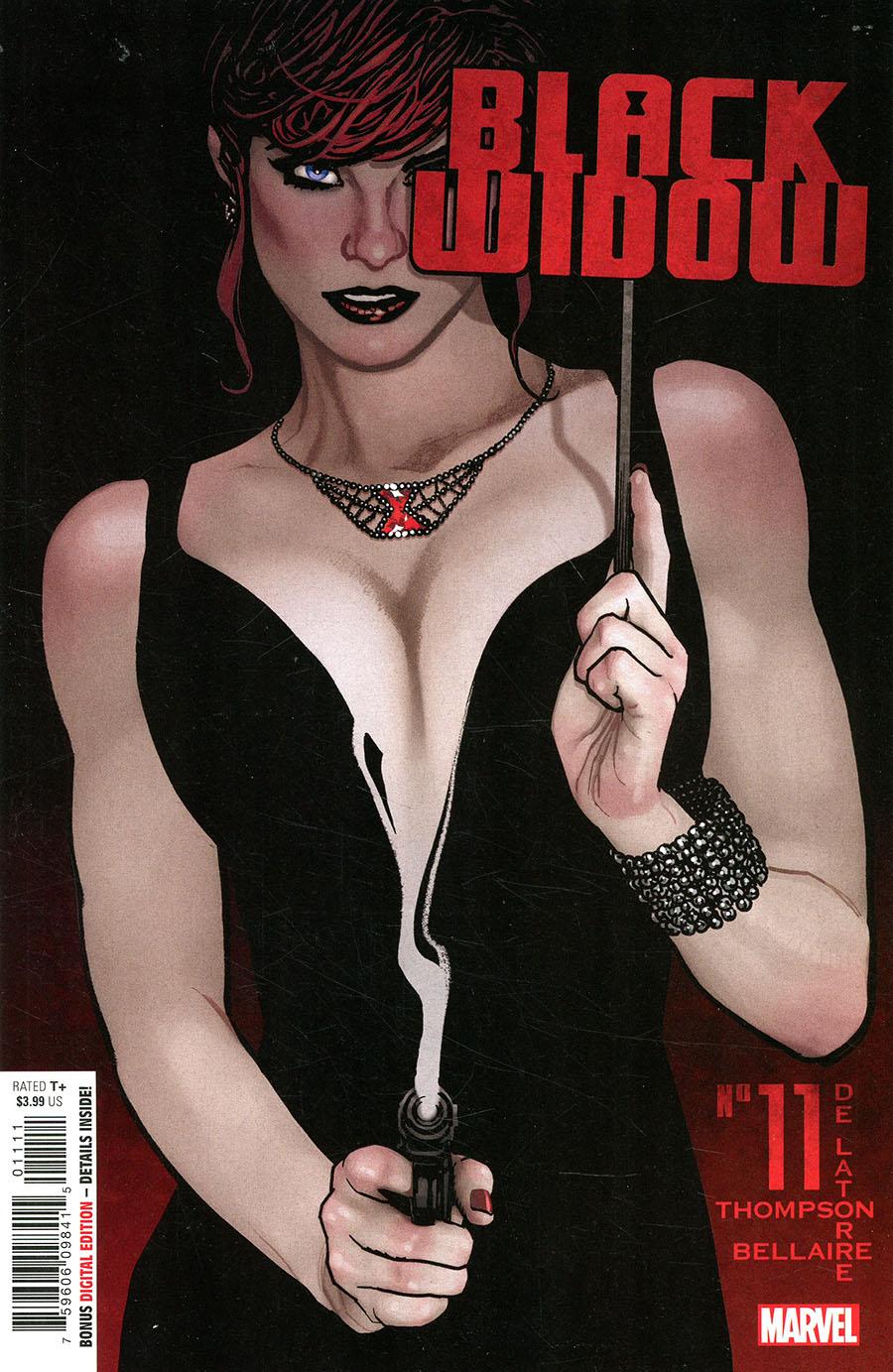 Black Widow Vol 8 #11 Cover A Regular Adam Hughes Cover