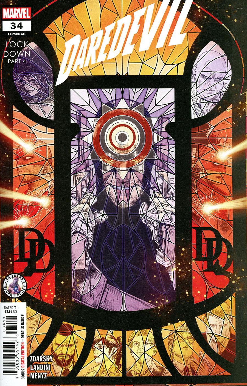 Daredevil Vol 6 #34 Cover A Regular Marco Checchetto Cover