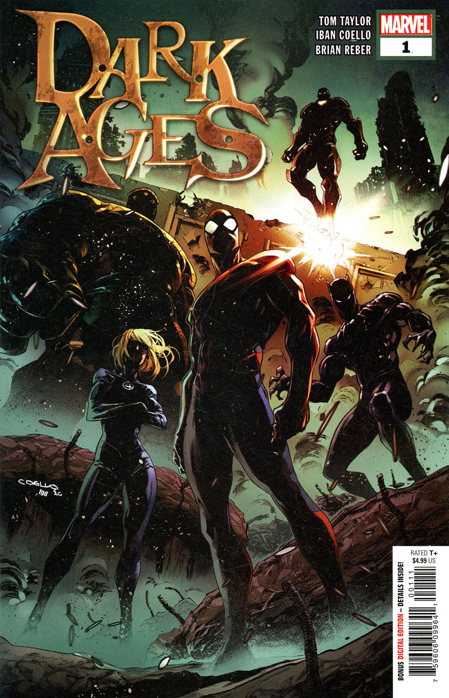 Dark Ages #1 Cover A Regular Iban Coello Cover