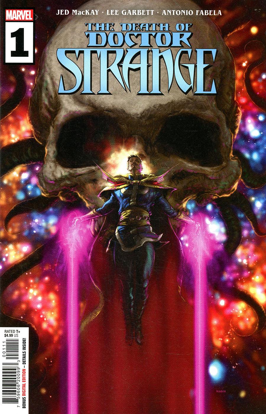 Death Of Doctor Strange #1 Cover A Regular Kaare Andrews Cover