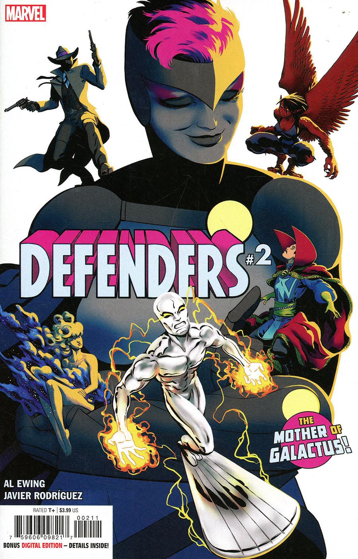 Defenders Vol 6 #2 Cover A Regular Javier Rodriguez Cover