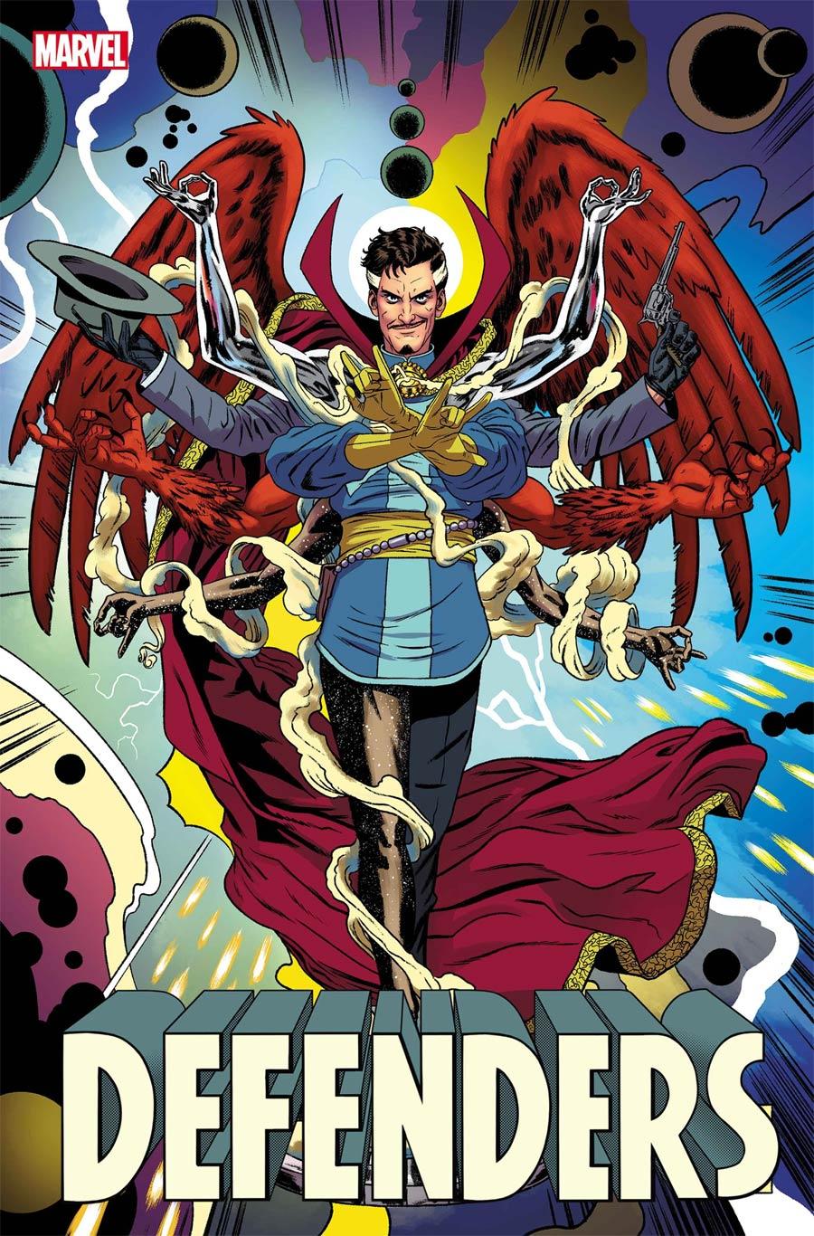 Defenders Vol 6 #2 Cover C Variant Joe Quinones Cover