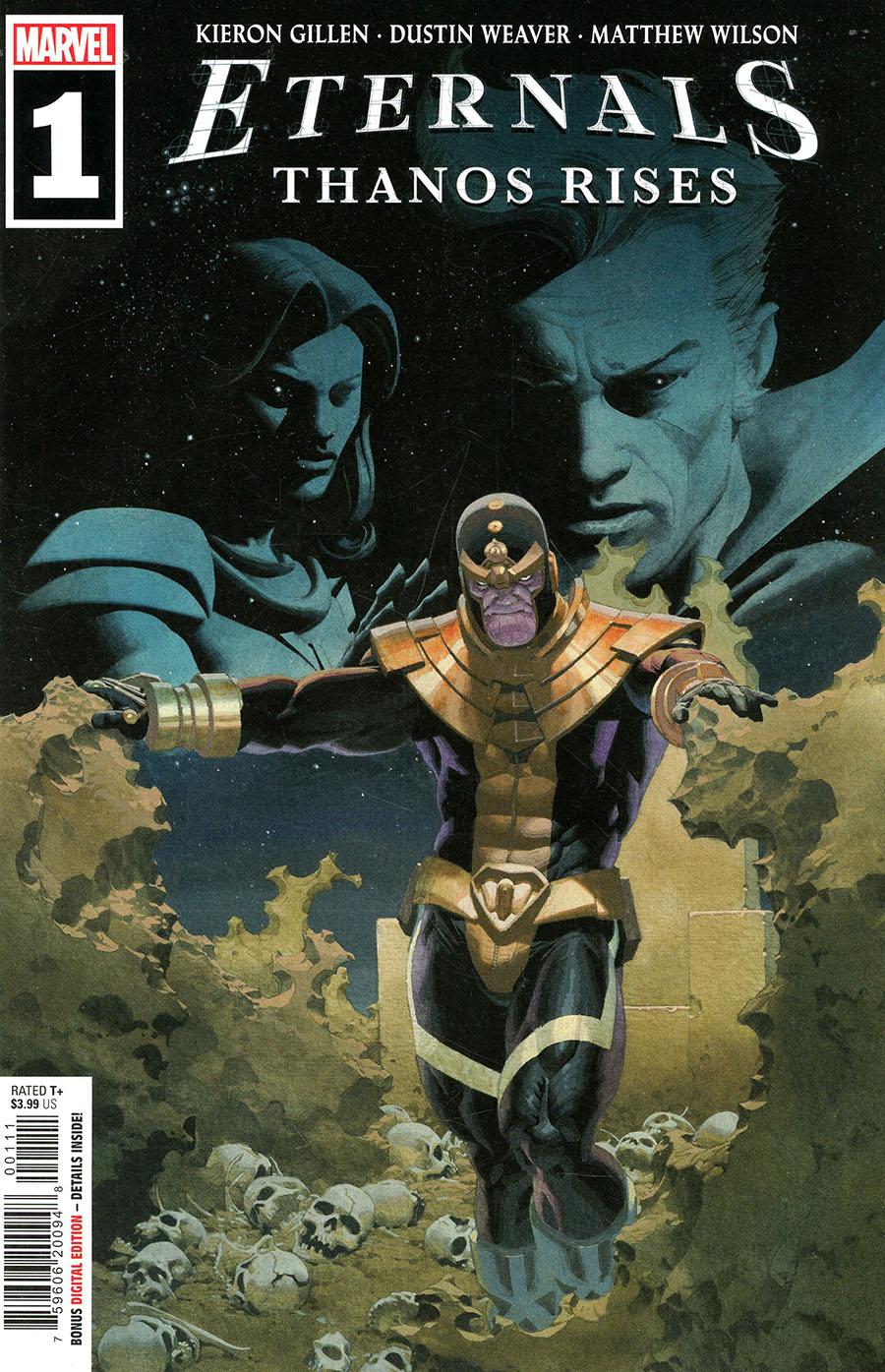 Eternals Thanos Rises #1 (One Shot) Cover A Regular Esad Ribic Cover