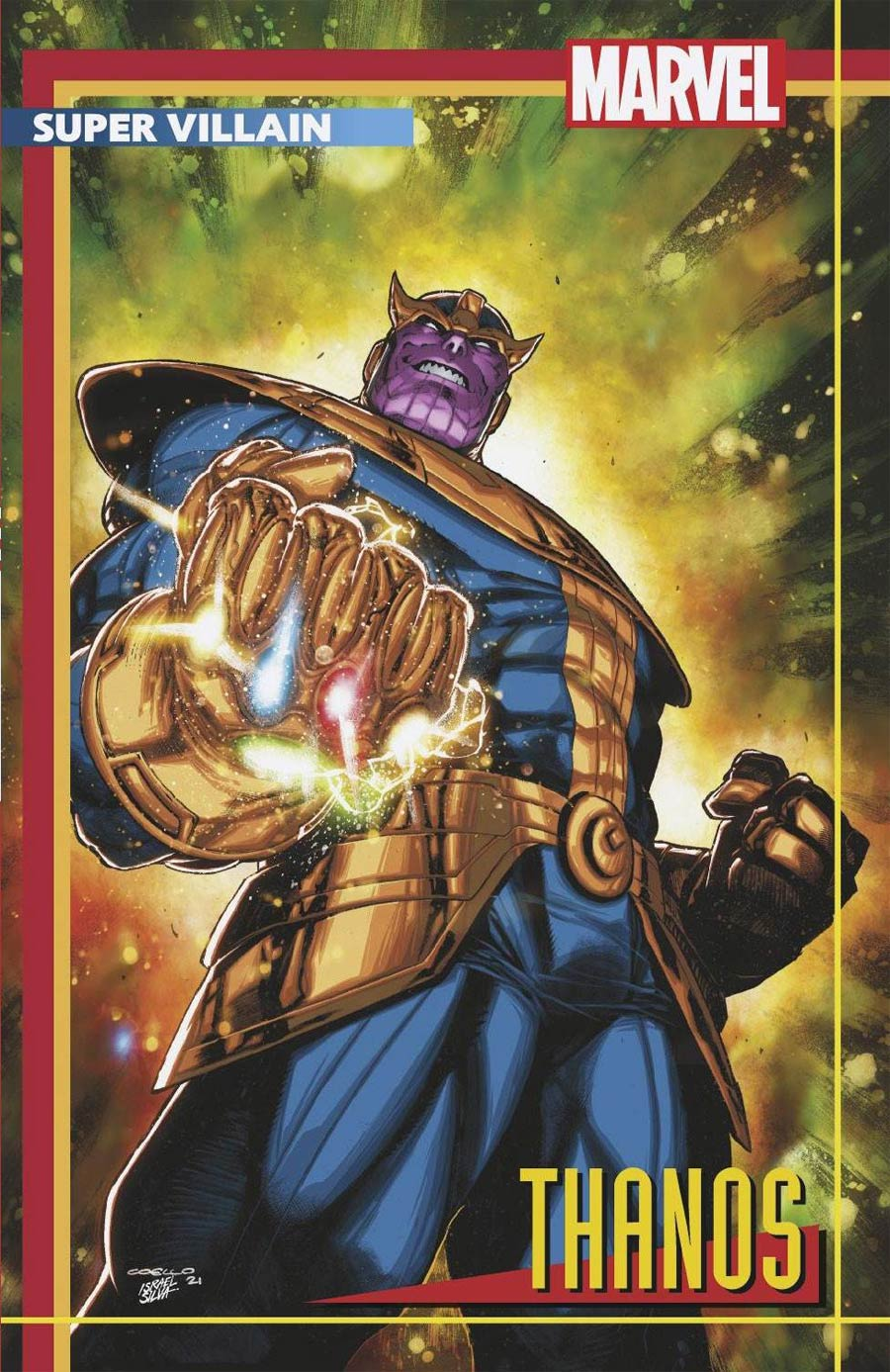 Eternals Thanos Rises #1 (One Shot) Cover B Variant Iban Coello Stormbreakers Cover