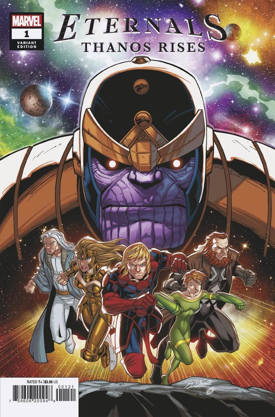 Eternals Thanos Rises #1 (One Shot) Cover C Variant Ron Lim Cover