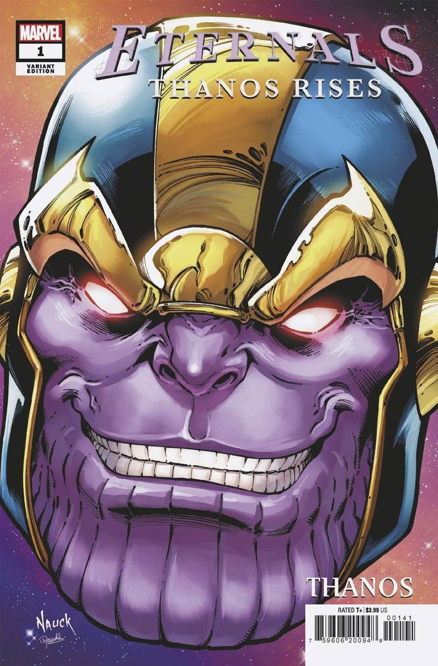 Eternals Thanos Rises #1 (One Shot) Cover D Variant Todd Nauck Headshot Cover