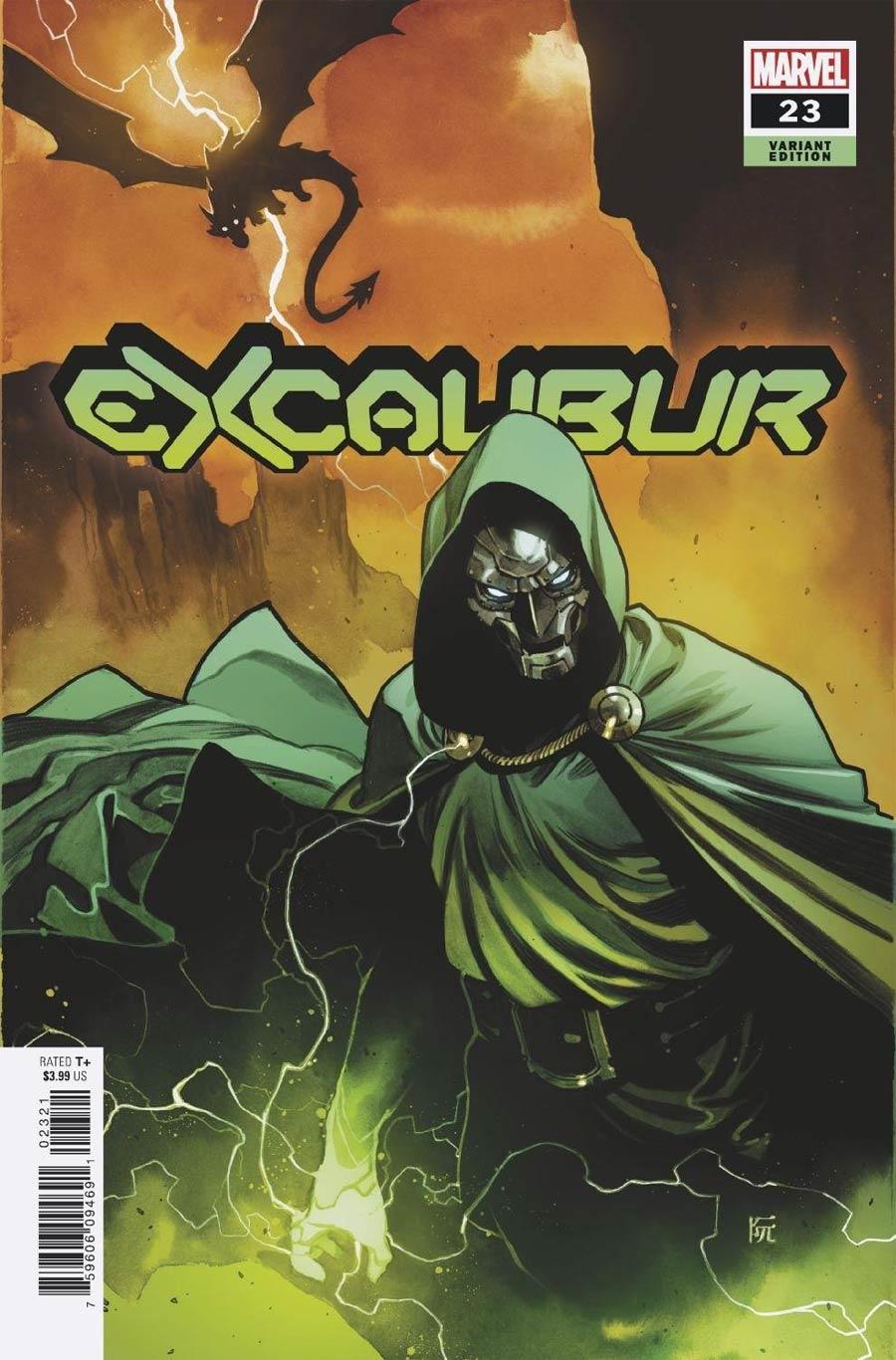 Excalibur Vol 4 #23 Cover B Variant Dike Ruan Cover