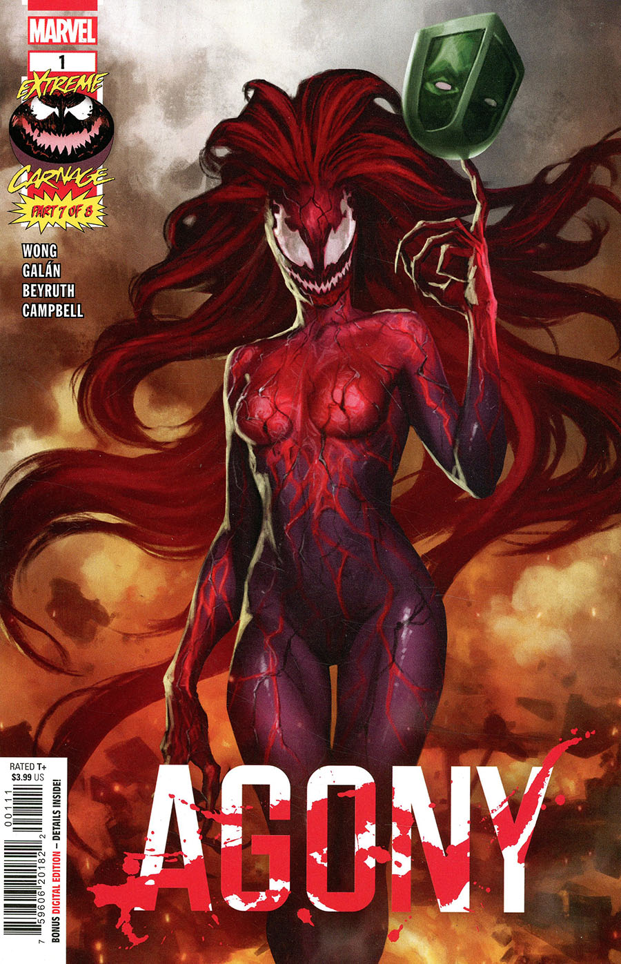 Extreme Carnage Agony #1 (One Shot) Cover A Regular Skan Cover