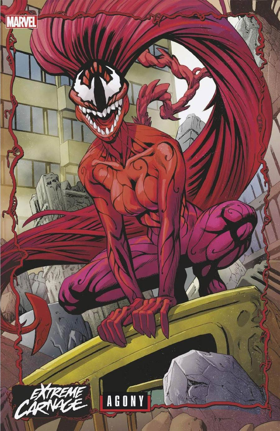 Extreme Carnage Agony #1 (One Shot) Cover B Variant Jeff Johnson Connecting Cover