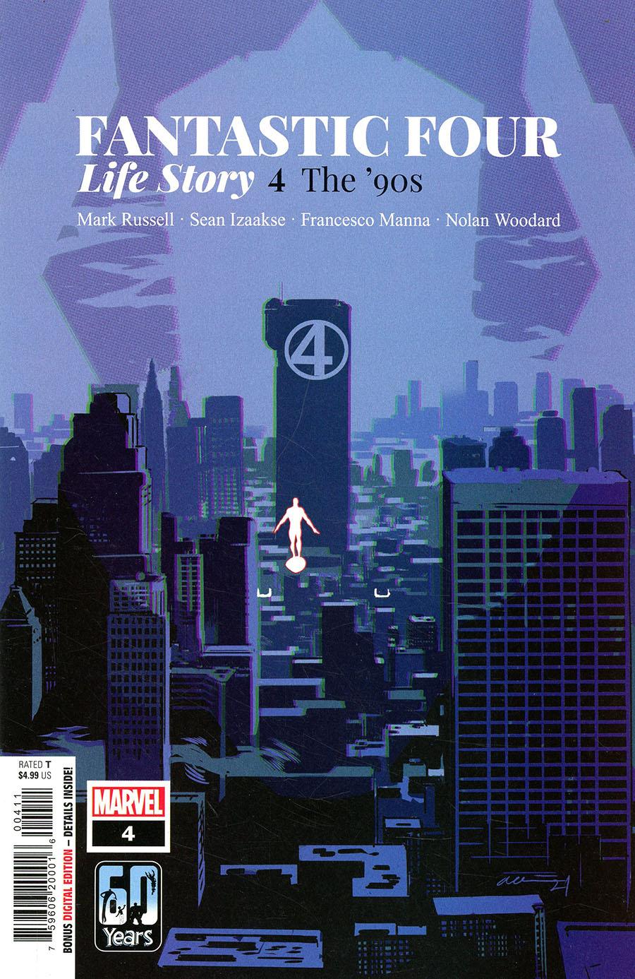 Fantastic Four Life Story #4 Cover A Regular Daniel Acuna Cover