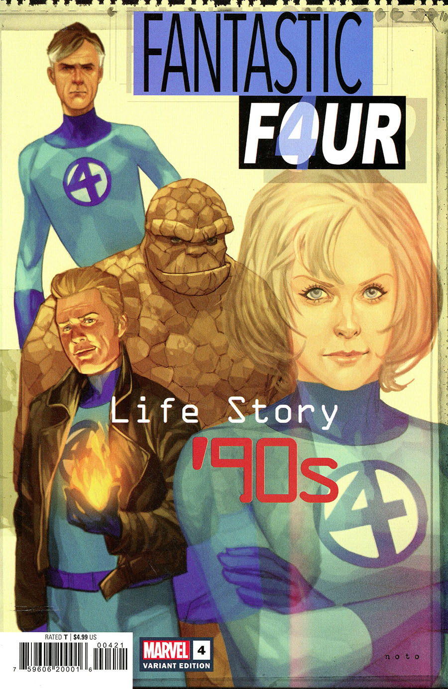 Fantastic Four Life Story #4 Cover B Variant Phil Noto Cover
