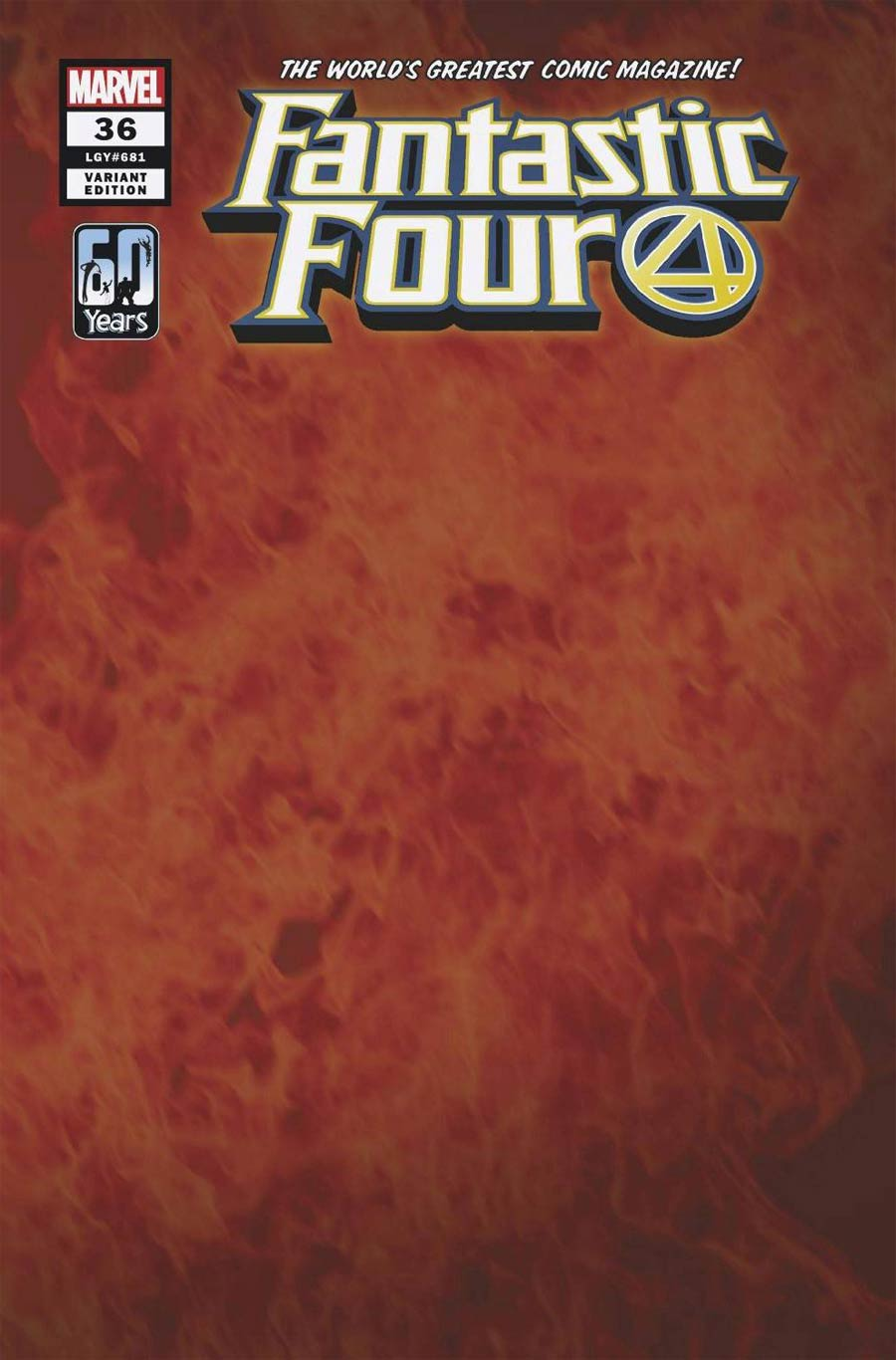 Fantastic Four Vol 6 #36 Cover C Variant Flame Wraparound Cover