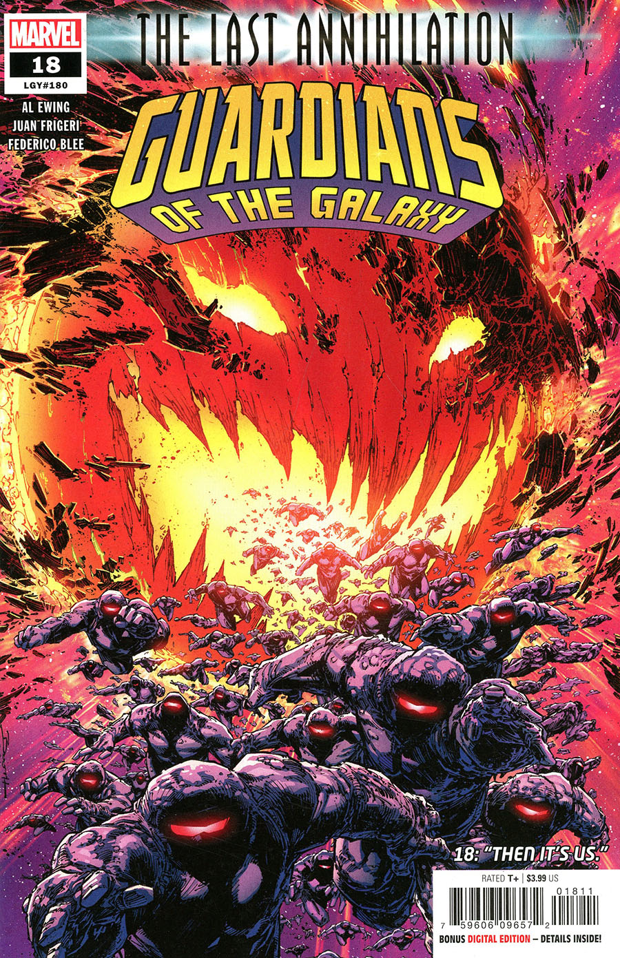 Guardians Of The Galaxy Vol 6 #18 Cover A Regular Brett Booth Cover (Last Annihilation Tie-In)