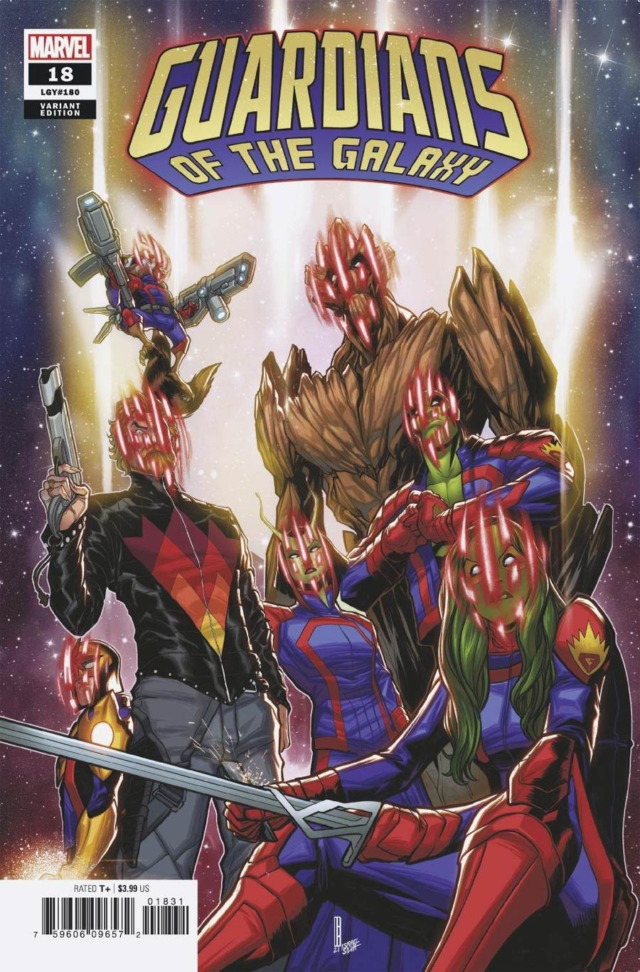 Guardians Of The Galaxy Vol 6 #18 Cover C Variant David Baldeon Cover (Last Annihilation Tie-In)