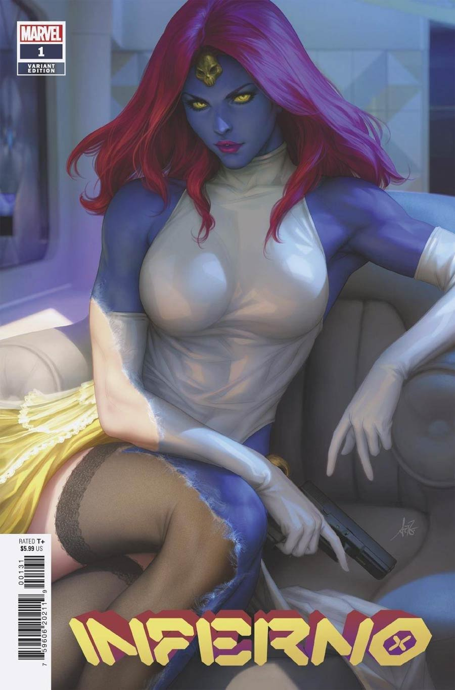 Inferno Vol 2 #1 Cover C Variant Stanley Artgerm Lau Cover