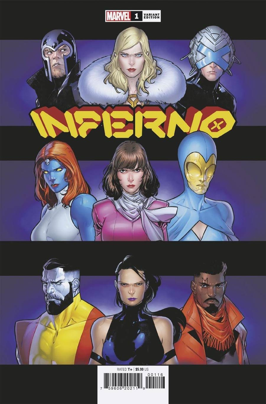 Inferno Vol 2 #1 Cover G Variant RB Silva Homage Cover