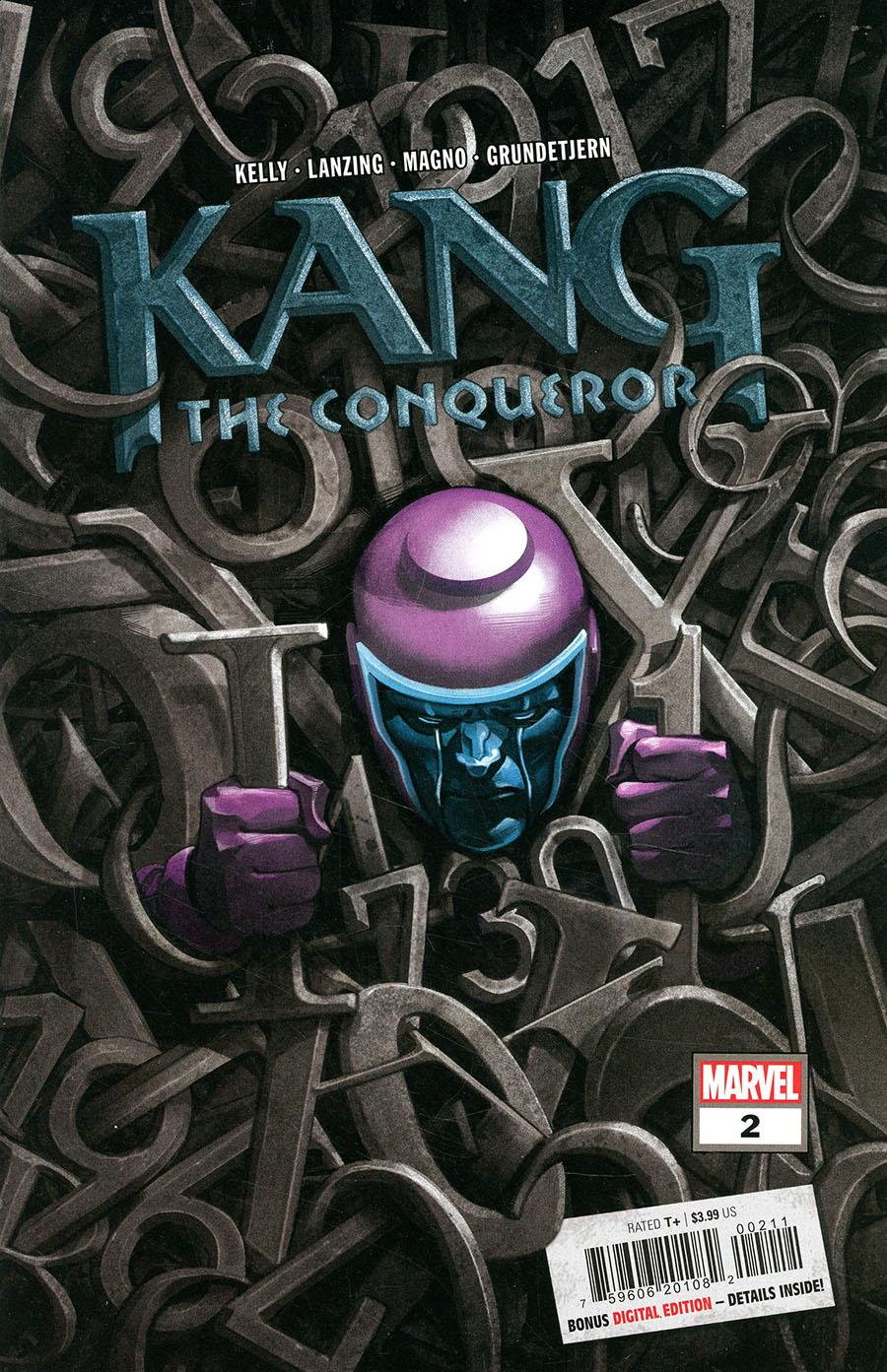 Kang The Conqueror #2 Cover A Regular Mike Del Mundo Cover