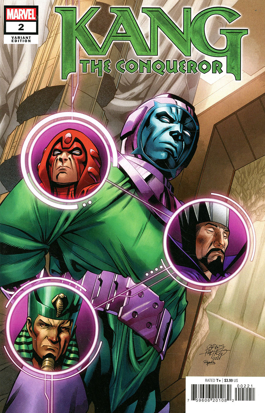 Kang The Conqueror #2 Cover B Variant Carlos Pacheco Cover