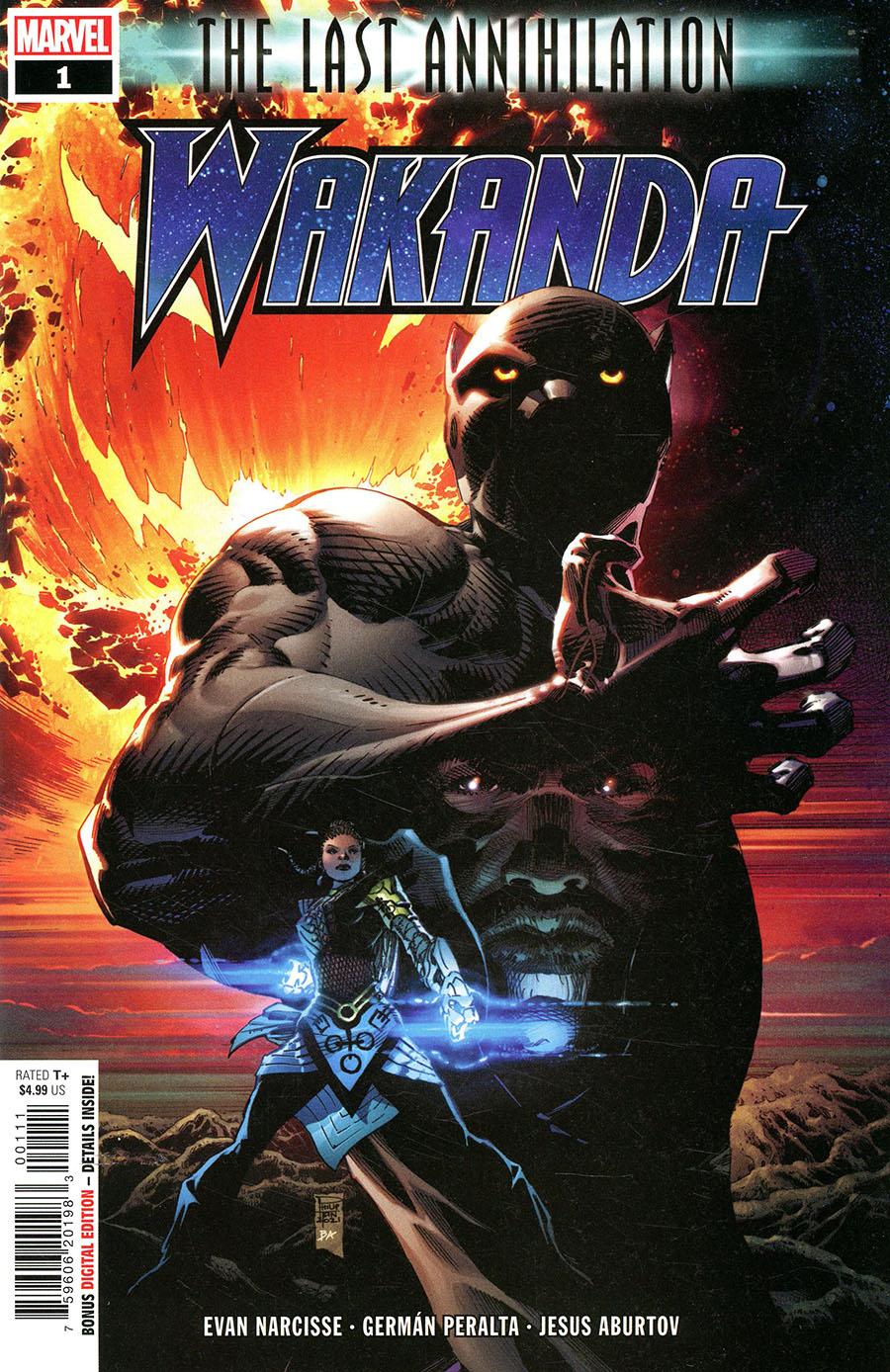 Last Annihilation Wakanda #1 (One Shot) Cover A Regular Philip Tan Cover